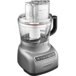 buffet kitchen furniture kitchenaid kfp0922cu contour silver 9 cup food processor