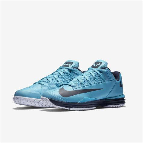 Nike Mens Lunar Ballistec Tennis Shoes Omega Blue