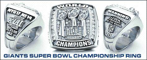 york giants receive  super bowl rings big blue