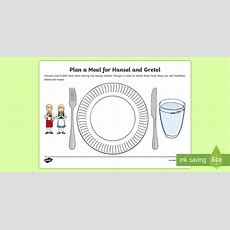 * New * Ks1 British Food Fortnight Design A Meal For Hansel And