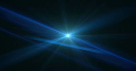stage light optical flares event club visual blue motion