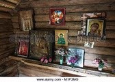 Religious architecture image: interior of a russian ...