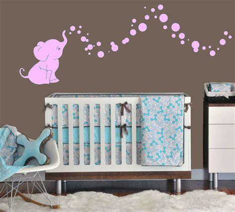 Babyzimmer Ideen Wandgestaltung by Elephant Bubbles Baby Wall Decal Vinyl Wall Nursery Room