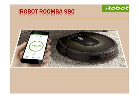 irobot floor cleaner india irobot roomba 980 features authorstream