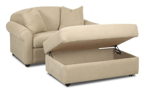 double size chair with ottoman possibilities chair sleeper and storage ottoman set