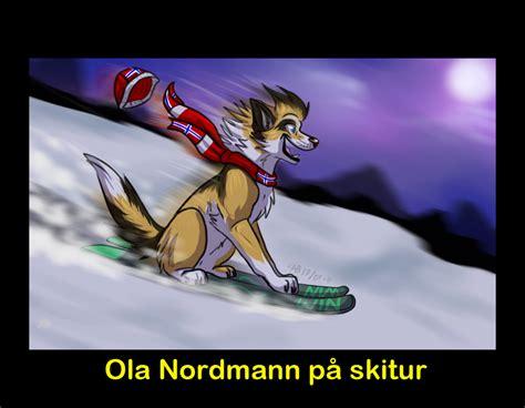Ola Nordmann Paa Ski Tur By Kerriganbuwan On Deviantart