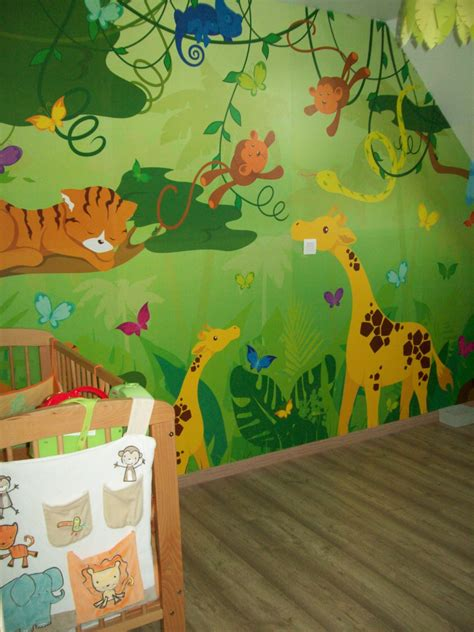 decoration chambre jungle davaus deco chambre jungle avec des idées
