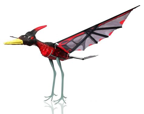 This Remote Controlled Pterosaur Flies In The Air Like A