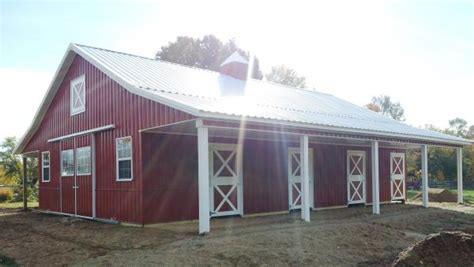 how to build pole shed how to save money when building a pole barn
