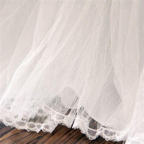 white bed skirt