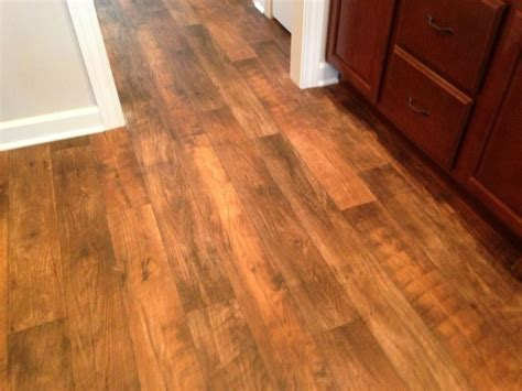 Fabric That Linoleum That Looks Like Wood Grain ? Home