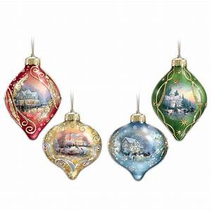 Thomas Kinkade Christmas Tree Ornaments • Comfy Christmas
