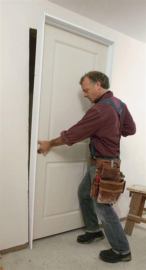 troubleshooting  prehung door installation fine