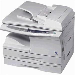 sharp al 1642cs digital laser copier printer color scanner With automatic document feeder printer