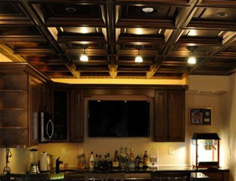 Drop Ceiling Options For Basements by Drop Ceilings Vs Drywall For Finishing Your Basement