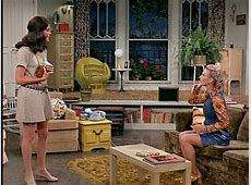 Mary and Phyllis on the Mary Tyler Moore Show Hooked on