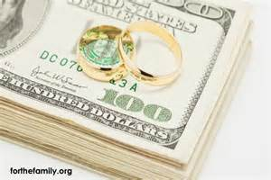 rubber wedding band money and marriage 3 ways to make it easier for the family
