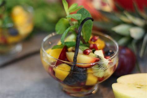 avocat cuisine recette recette de la salade de fruits au thé succulente