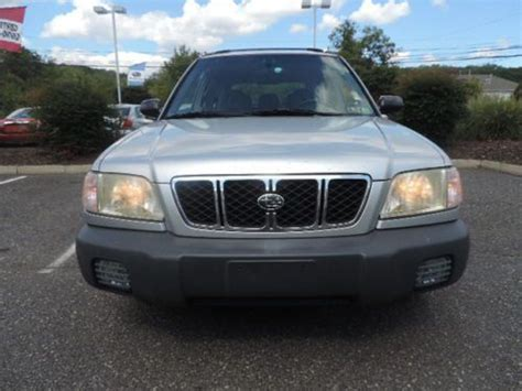 subaru forester fog lights sell used 2002 subaru forester 1 owner clean carfax awd