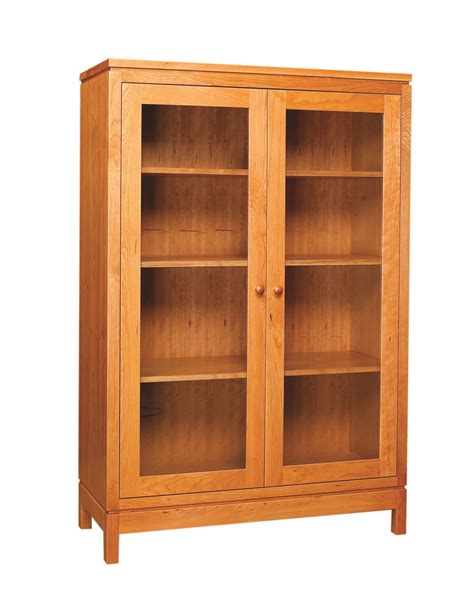 Two Door Bookcase by Franklin Two Door Bookcase Display Cabinet