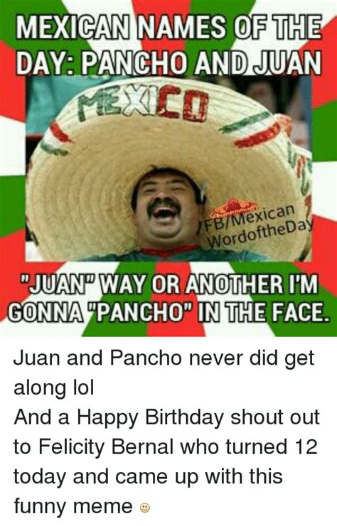 Mexican Happy Birthday Meme - mexican happy birthday meme 28 images mexican word of the day pictures photos and images for