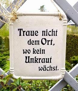 Gedicht Der Lattenzaun : garten schild mit spruch aus beton garten deko spr che ~ Lizthompson.info Haus und Dekorationen