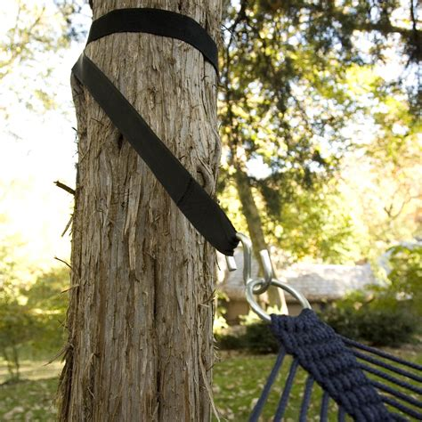 How To Use Hammock Tree Straps by Set Of 2 Hammock Tree Straps Hammock Stands