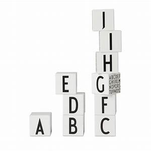 leo bella design letters wooden alphabet cubes white With design letters blocks