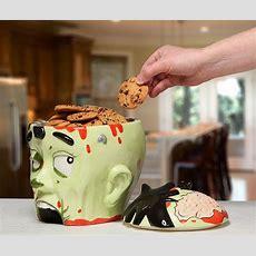Zombie Head Cookie Jar  Thinkgeek