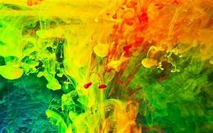Paint, In, Water, Liquid, Abstract, Colorful, Wallpapers, Hd