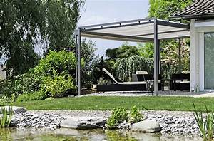 Kletterpflanzen Für Pergola : horizontalrollstore f r sonnenschutz auf ihrer pergola ~ Markanthonyermac.com Haus und Dekorationen