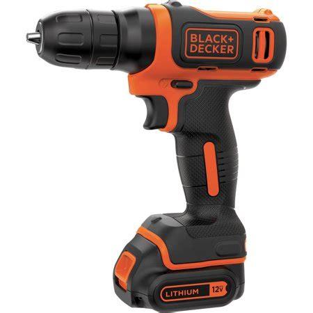 black und decker bohrmaschine black decker bdcd112c 12 volt max lithium ion cordless drill walmart