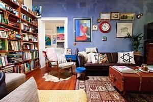 idee deco recup salon With decorer un mur exterieur 7 idees pour decorer un salon avec des meubles de rangement