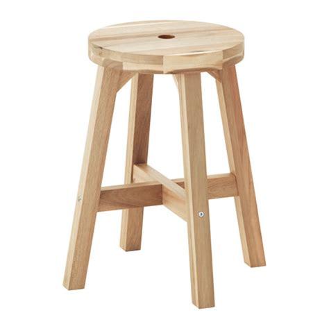 wooden stool ikea skogsta stool ikea