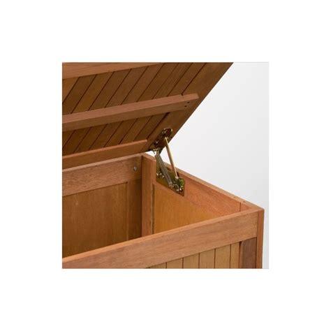 cuisine musculation banc coffre de rangement jardin extérieur en bois avec coussin