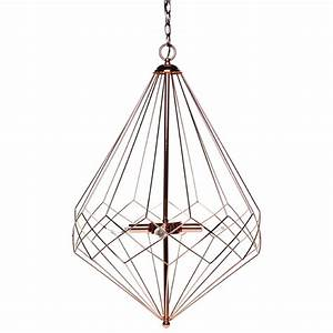 Large copper pendant lighting : Cafe lighting large copper portland pendant bunnings