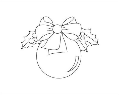 christamss ball template 43 christmas templates for print free word designs