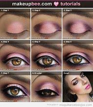 Pink Eye Makeup Step by Step