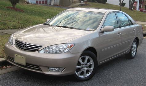 2005 Toyota Camry Mpg by 2005 Toyota Camry Le Sedan 2 4l Manual