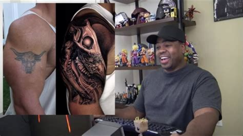 Check Out The Rock's New Tattoo!!! Youtube
