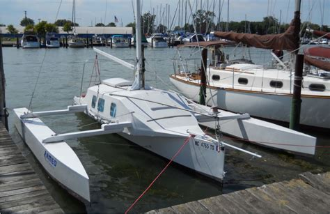 Trimaran Sailboat by Small Trimarans The Community For