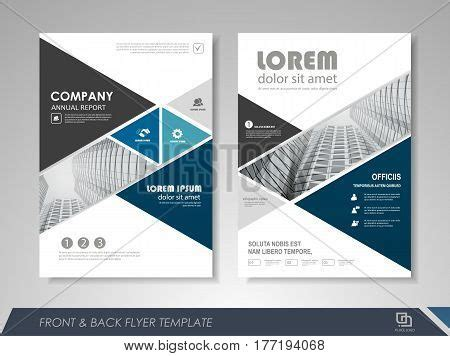 Modern Blue Brochure Design Vector Photo Bigstock Design Images Illustrations Vectors Design Stock