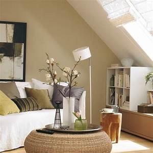 Wohnzimmer Gemütlich Gestalten : dachschr ge wohnzimmer einrichten ~ Lizthompson.info Haus und Dekorationen
