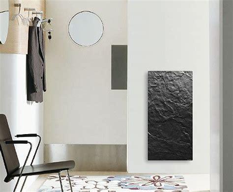 radiateur electrique cuisine radiateur décoratif valderoma en ardoise noir 1300w