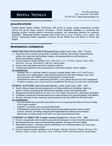 sales  marketing manager resume sample