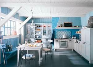 deco cuisine gris et bleu With cuisine gris et bleu