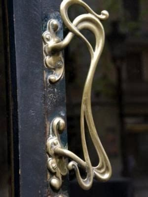 Lade Nouveau by Nouveau Door Handle By Echkbet Vintage Doors And