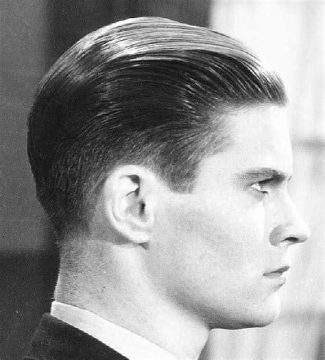 wie nennt man den maennlichen haarschnitt der er jahre