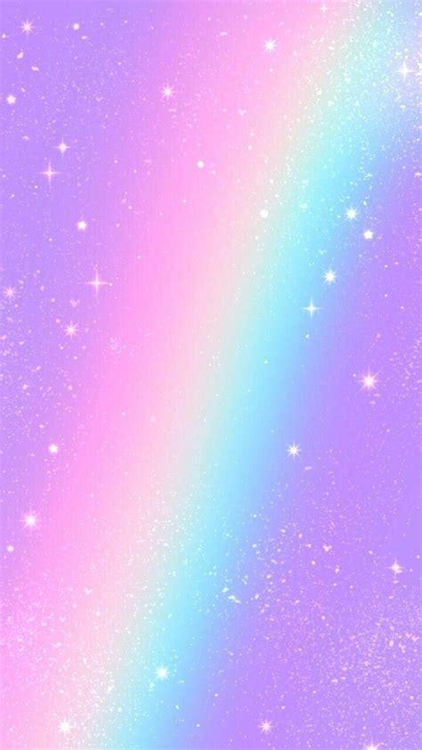 aesthetic rainbow glitter wallpapers