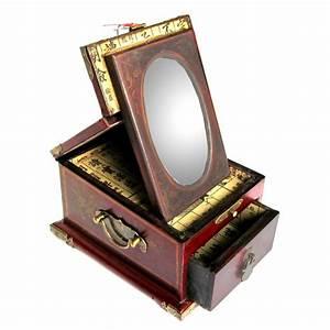 Miroir Boite A Bijoux : boite bijoux avec miroir magasin du meuble asiatique ~ Teatrodelosmanantiales.com Idées de Décoration